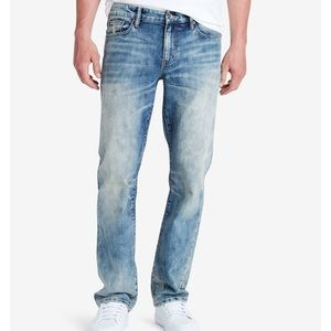 William Rast Legacy Relaxed-Fit Straight-Leg Jeans